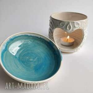 wyjątkowy prezent, kominek ceramiczny 2, kominek, że świeczką