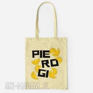 kapotka pierogi torba na zakupy, polskie jedzenie bawełniana, torba