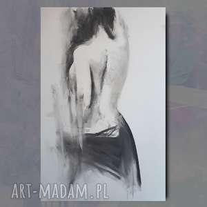 Akt 100x70 dom galeria alina louka obraz do salonu, kobieta duża