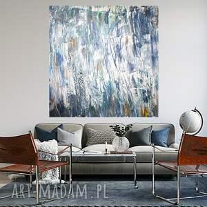 obraz ręcznie malowany 120x120