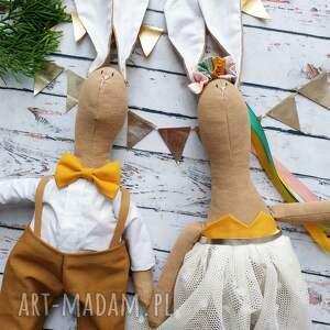 ślub lalki prezent dla młodej pary, prezent, ślub, wesele, naturalna, pamiątka