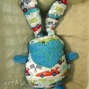hand-made pokoik dziecka zając królik przytulanka