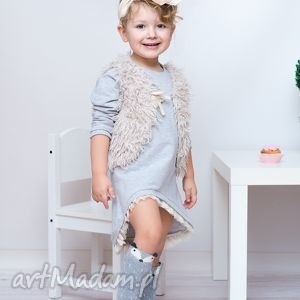 handmade ubranka sukienka dla dziewczynki 104-116