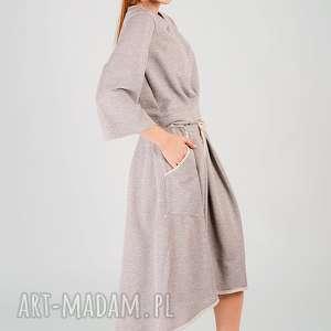 non tess metaliczna dzianinowa spódnica z bawełny, metaliczna, srebrna, mieniąca