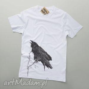 kruk na badylu tshirt męski, koszulka, ubrania