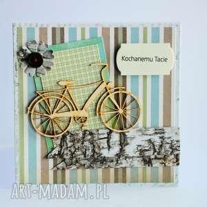oryginalny prezent, motylarnia kartka - kochanemu tacie 1, kartka, tata, rower