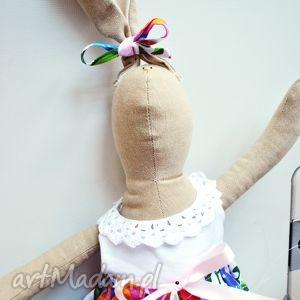 maskotki pani królik, tilda, zabawka, eko, dziecka, prezent
