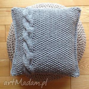 poduszka dekoracyjna, poduszka, dekoracja, homedecor, decor, na drutach