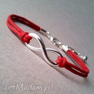 bransoletki infinity, nieskończoność, sznurek, sznurkowa, minimalistyczna