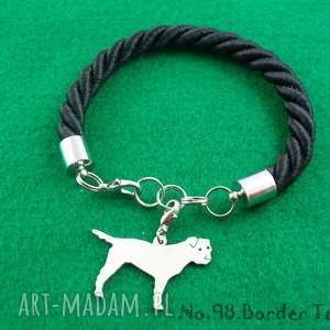Prezent Bransoletka border terrier pies nr.98, bransoletka, pies, rasy-psów