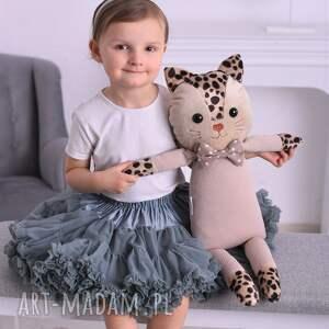 przytulanka dziecięca kot tata, poduszka kot, handmade, pomysł