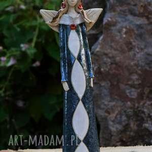 anioł ceramiczny, ręcznie wykonany, wyjątkowe prezenty