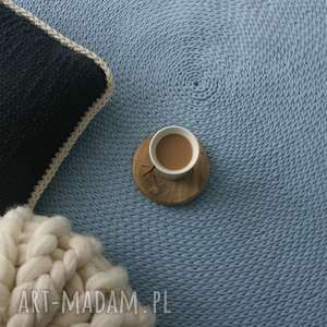dywan bawełniany średnica 200 cm, dywan, carpet, do-salonu