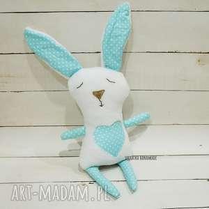 misiostworek - królik turkus - pluszak, zabawka