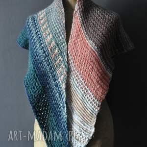 handmade szaliki wielobarwna chusta