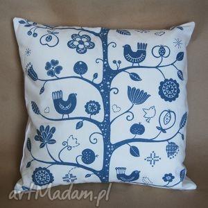 poduszki poszewka na poduszkę 50 50cm, skandynawska tkanina i wzornictwo, poduszka
