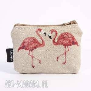 kosmetyczki flamingi, leming, flaming, lama, etui, saszetka, oryginalny prezent