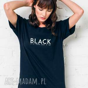 BLACK IS ALL COLORS Oversize T-shirt, oversize