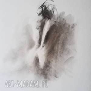 nude 30x40, rysunek-kobieta, akt-obraz, grafika-kobieta, czarno-biała-grafika