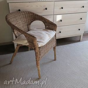 dywan dwustronny z bawełnianego sznurka 140 cm x 220 cm, rękodzieło, sznurkowy