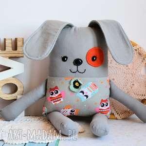 Piesek łatek - łucja 39 cm maskotki maly koziolek pies, maskotka