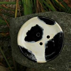 ceramika mydelniczka łaciata, mydelniczka, mydło, pojemnik na podstawka