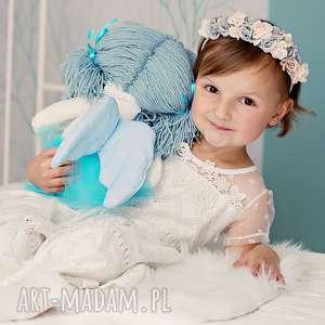 Prezent Lalka aniołek ze skrzydłami, lalka-szmacianka, pomysł-na-prezent