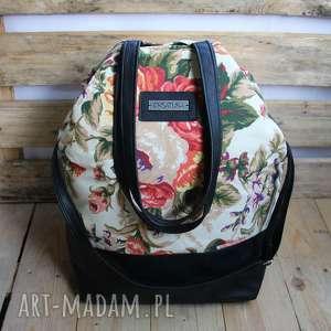 kwiecisty worek, kwiaty, torba, torebka
