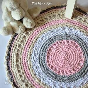 dla dziecka sznurkowy dywanik, pokoik dziecka, sznurek