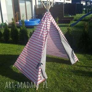 unikalny, tipi, namiot, zabawa, prezent
