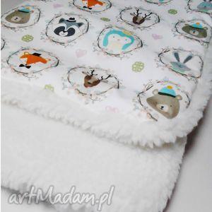 Przytulaśny kocyk maluszka, idealny na zimę, kocyk, kołderka, wózek, zima