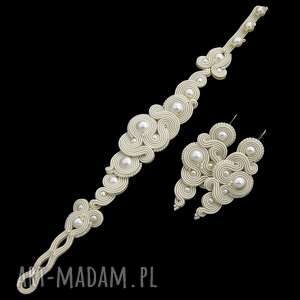 ślub komplet ślubny milino pearl soutache