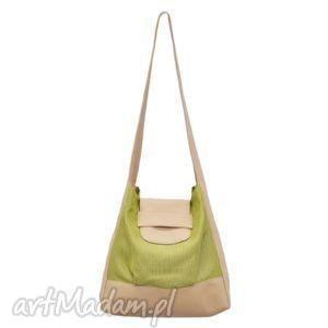 3d3e46575f5e9 26-0007 zielona torebka worek na zakupy humming-bird