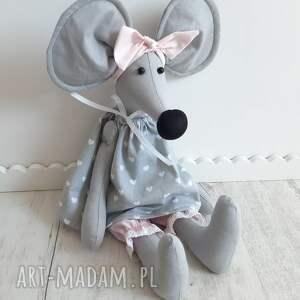 hand made maskotki mała myszka alicja 50