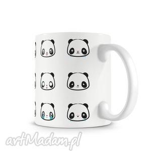 Kubek - pandowe miny kubki niezwykly kubek, panda, słodko,