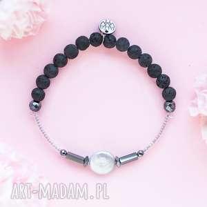 WHW High - Smooth Pearl, dwustronna, kamienna, kamienie, perła, lawa, hematyt