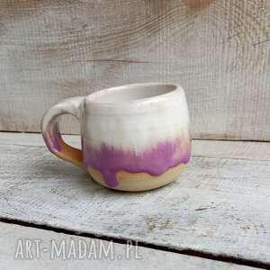 handmade kubki kubek ceramiczny kamionkowy różowy walentynki