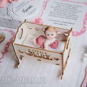 exploding box - pamiątka chrztu kołyska, box, pudełko, chrzest