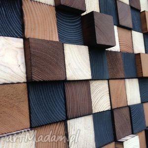 Obraz drewniany na zamówienie dekoracje drewniana sciana obraz