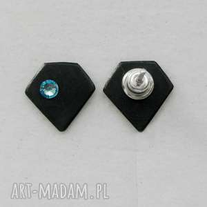 DIAMENT kolczyki, srebro, swarovski
