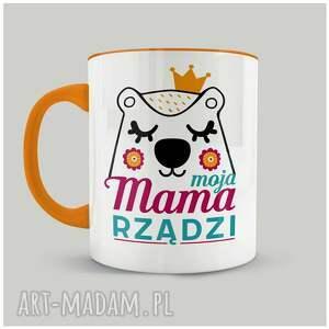 kubek moja mama rządzi, dzieńmamy, kubek, prezent, mama, święto, personalizacja