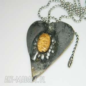 wisior serce, wisior-serce, unikatowa-biżuteria, unikatowe-serce