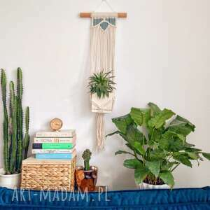 macramotion kwietnik lotos, kwietnik, makrama, makatka, boho