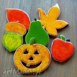 ręcznie robione ceramika jesień, złota jesień