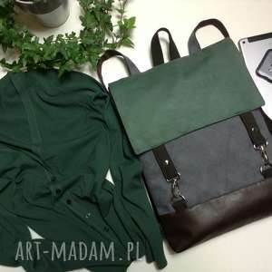 damski plecak, plecak na laptopa, mini miejski