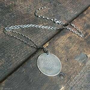 ręcznie zrobione naszyjniki naszyjnik srebrny
