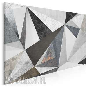 obraz na płótnie - beton marmur wzór 120x80 cm (59301)