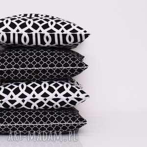 ręcznie wykonane poduszki komplet 4 poduszek ozdobnych marokańskich 40x40cm