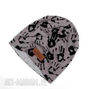 ciepla czapka beanie łapki - ciepła, czapka, beanie, łapki, unisex, prezent