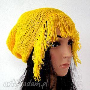 czapki czapeczka z grzywką, czapka, czapeczka, grzywka, lekka, ręcznie